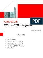 WSH OTM Integration