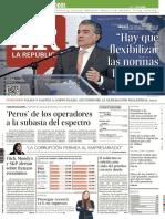 Diario La Repúbliuca - Septiembre 09 de 2019