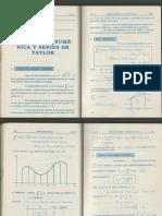 12. Integración Numerica y Serie de Taylor