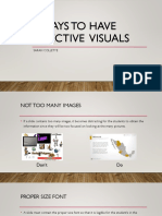 7 ways to have an effective powerpoint