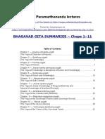 Gita Summary
