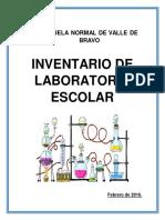 Inventario de Laboratorio 1era Parte 160215162311