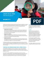 2018 Factsheet Peru UNOPS