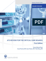 ATS Critical Care Board Review
