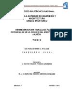 Infraestructura Hidráulica Para Usos Potenciales en La Cuenca Del Arroyo Ahogado, Jalisco.