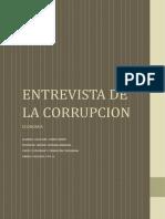 Entrevista de La Corrupcion