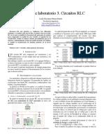Informe Lab 3 RLC