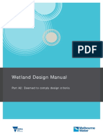 Constructed Wetlands Design Manual - Part A2 - Deemed to Comply Design Criteria