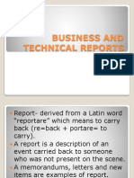 Business and Technical Reports (1)