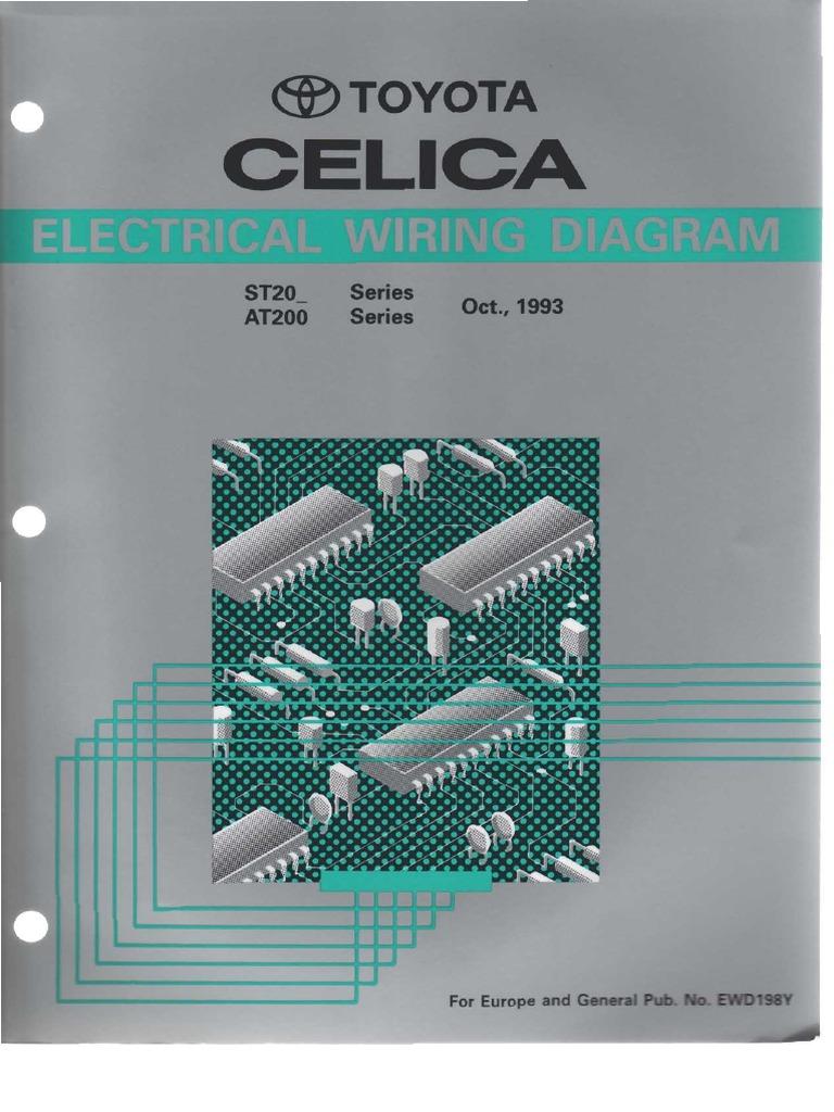 rdi refrigeration unit wiring diagrams toyota at202 st204 electrical wiring diagram  ewd198y  pdf  electrical wiring diagram  ewd198y