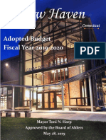 FY 2019-20 BOA Approved Budget
