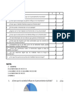 Excel Metodologia Encuesta
