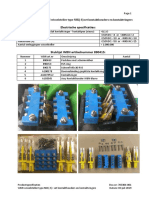 703304-001 Product Specifications Set Contact Blocks and Contact Fingers