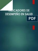 INDICADORES DE DESEMPEÑO DE SALUD EN EL TRABAJO