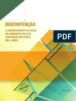 Biocontencao Gerenciamento Risco Ambientes Alta Contencao