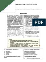 Guía n° 2 lenguaje