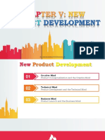 Chapter v New Product Development