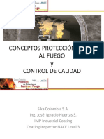 CONCEPTOS DE PROTECCIÓN PASIVA CONTRA EL  FUEGO