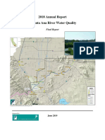 2018 Annual Report of Santa Ana River Water Quality