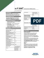 Basf Masterbrace p3500 Tds