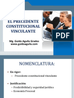 Precedente  vinculante - Dr. Guido Aguila.pptx