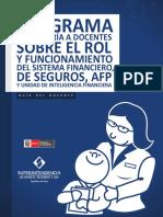 Rol de Supervisores Financieros Perú