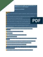 Estereotipos Que Promueven Los Medios de Comunicación y Su Influencia en La Salud Integral