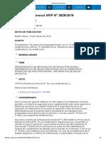 rg 3829-16 Ley N° 18.820 y sus modificaciones, Artículo 15.