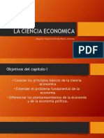 La Ciencia Economica