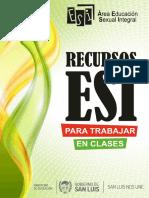 Recursos ESI para Trabajar en Clase 2019