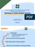 Workshop PWS Philippines 21 Feb Rev