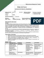 PESADA Silabo Aplicaciones Del Calculo 2017-2
