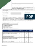 Herramienta de Evaluación de Desempeño PVA