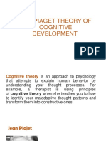 The Piaget Theory of Cognitive Development