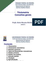 Titulometria
