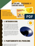 Radiacion Solar , Riesgos y Prevenciones - Calculo