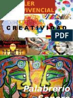 Taller Vivencial Creatividad Existencial