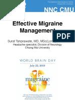 New Era in Migraine Management_2019_HatYai