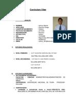 Curriculum Vita1 Antony Ramirez Ortega