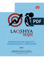 LaQshya- Labour Room Quality Improvement Initiative Guideline