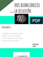 Registros Biomecánicos de La Oclusión. (1)