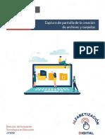 Instructivo -Organización de Archivos y Carpetas