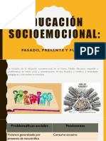 1.EDUCACIÓN SOCIOEMOCIONAL