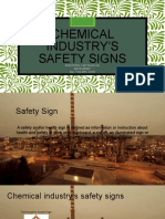 Chemical Industry Safety Sign