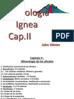 Cap II IG- 401 Mineralogia de Los Silicatos