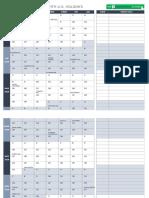 IC 2020 Weekly Calendar With US Holidays 8583