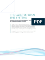 Coriant WP the Case for Open Line Systems
