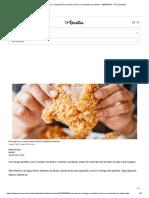 Como Deixar o Frango Frito Crocante Por Fora e Suculento Por Dentro - 08-09-2019 - UOL Receitas