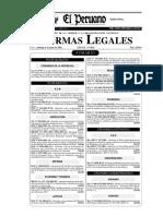Ley N° 27753 Alcoholemia tabla