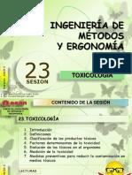 Sesión 23 TOXICOLOGÍA.pptx